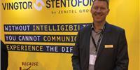 Kenneth Dastol, CEO & President, Zenitel Group. Photo: Greg Trauthwein