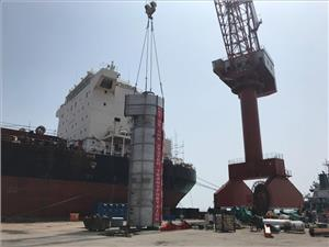 The installation represents one of the first scrubber retrofits to be carried out in a Chinese yard, a reflection of the industry-wide acceleration in the global scrubber market. (Photo: CTG)