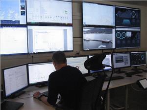 """Phase 1"" to ""2"": Rolls-Royce's remote monitoring facility at Longva, near Aalesund. Photo: William Stoichevski"