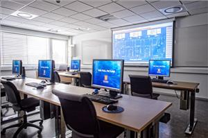Kongsberg Training Center Class Rooms (Photo: Kongsberg)