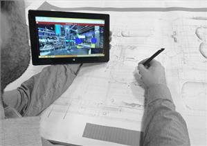 LFM NetView - Tablet enablement and the facility to take data 'offline' and synchronize later enables remote use for inspection tasks and on-site reviews (Image: LFM Software)