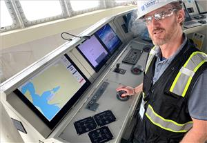 Mackay Marine's Vancouver Project Manager Ben Staggs (Photo: Mackay Marine)